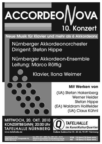 Programmheft downloaden - Nürnberger Akkordeonorchester