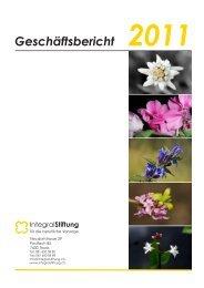 Geschäftsbericht 2011 - Integral Stiftung