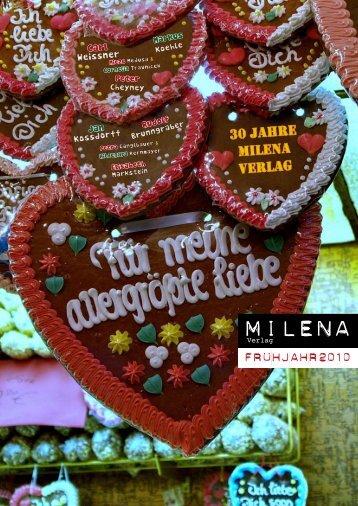 Frühjahr 2010(PDF, 2.9MB) - Milena Verlag