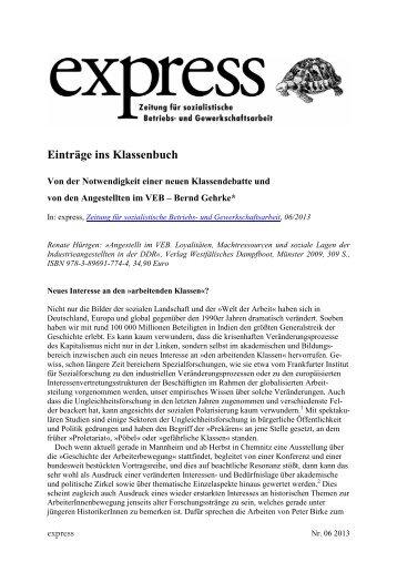 Rezension - Verlag Westfälisches Dampfboot