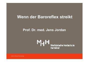 Vortrag Prof. Dr. med. Jens Jordan