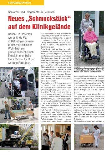 """Neues """"Schmuckstück"""" - Märkische Kliniken GmbH"""