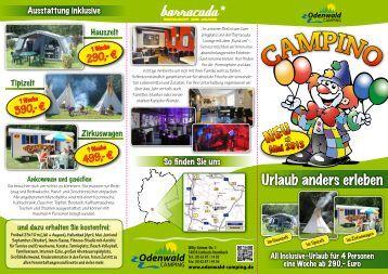 Urlaub anders erleben NEUab - Odenwald Camping