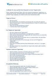 Gespraechsleitfaden Tagesmutter.pdf (0.6 MB) - Mittelstand und ...