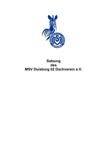 Mitgliedsbeitrage Erwachsene 2009 Msv Duisburg 02 Turnen E V
