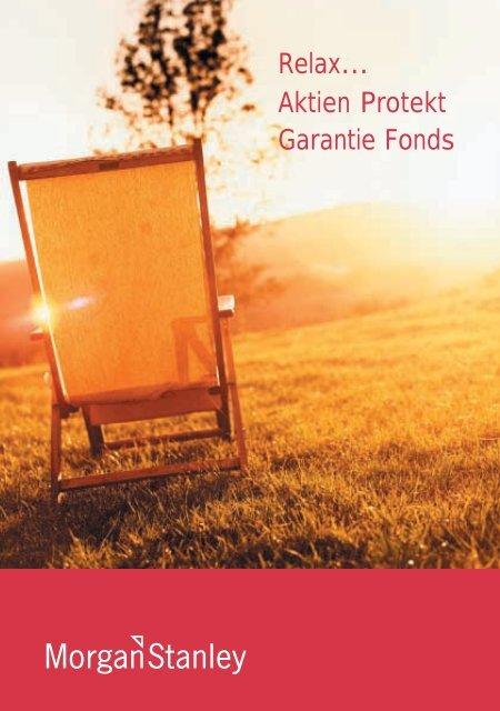 Relax… Aktien Protekt Garantie Fonds