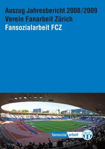 Jahresbericht Fansozialarbeit FCZ 2008/2009