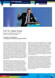 Vortrag Prof. Dr. Jürgen Hasse - IBA Hamburg