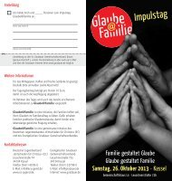Flyer Glaube_Familie.indd - Born-Verlag