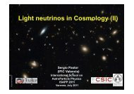 """Measuring"" even m ν =0.05 eV ? New cosmological observable ... - If"