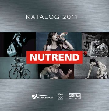 KATALOG 2011 - Nutrend Supplements