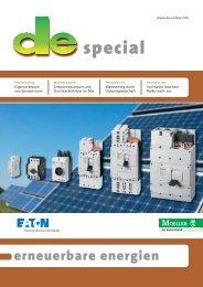 Photovoltaikanlagen sicher trennen und freischalten - Moeller