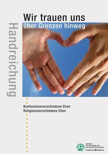 Handreichung (Diözese Salzburg) - ARGE Oekumene