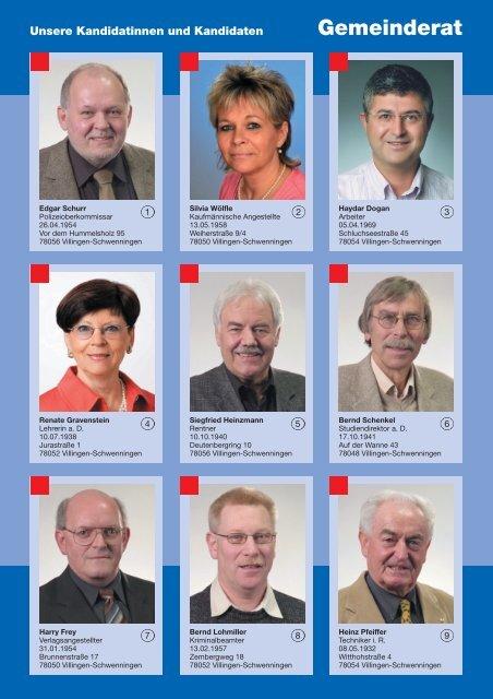 Gemeinderat - Die SPD in Villingen-Schwenningen