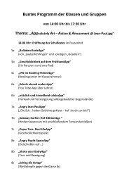 Schulfestprogramm 2013 als PDF - Jean-Paul-Gymnasium