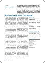 Wärmeverbund Blaufuhren AG, 3457 Wasen/BE - Solar Agentur ...