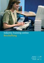 Muster-Lernheft - Industry Training Online