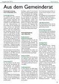 amtliche Mitteilungen - Marktgemeinde Bockfließ - Seite 3