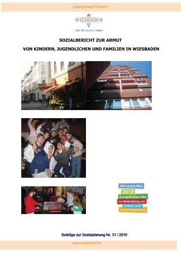 Sozialbericht zur Armut von Kindern, Jugendlichen und Familien in ...