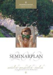 Seminarplan 2013 - Pharmos Natur
