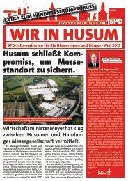 WIR IN HUSUM - Mai 2013 - SPD Ortsverein Husum