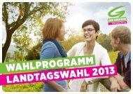 Wahlprogramm - Die Grünen Niederösterreich