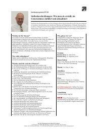 Stellenbeschreibungen - Dr. Beer Managemententwicklung ...