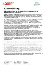 PM SKi WM Korea - Abfahrt - PLUSPORT Behindertensport Schweiz