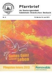 Maiandachten - Seelsorgeeinheit Adelsheim-Osterburken-Seckach