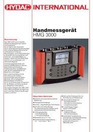 Handmessgerät HMG 3000