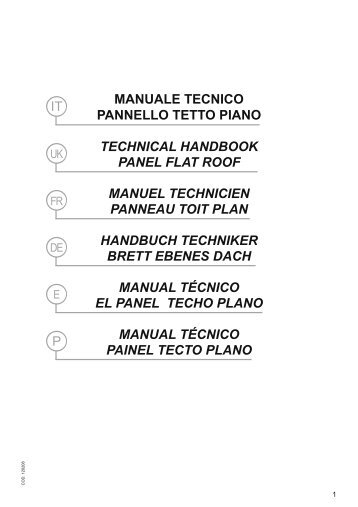 manuale tecn tetto piano 120208:manuale tettp ... - Teknoenergy
