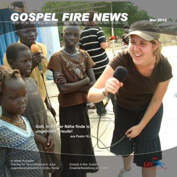 GOSPEL FIRE NEWS - Gfi-ministries.org