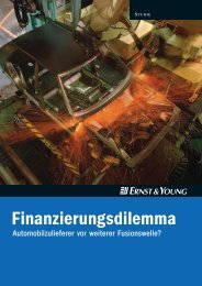 Ernst&Young 2003 - IG Metall Region Stuttgart