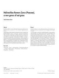 Helictochloa Romero Zarco (Poaceae), a new genus of oat grass