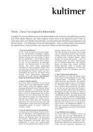 Reise Triest (PDF) - Hamburgische Staatsoper