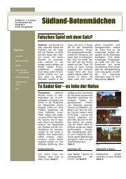 3. Ausgabe - Oase der Vier Palmen