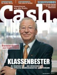 Cash 7-2010 - DVAG Presse