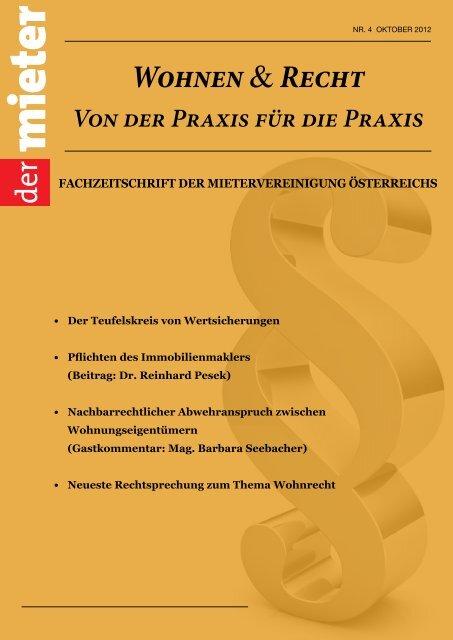 Download Die Mietervereinigung österreichs