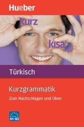 Leseprobe zum Titel: Kurzgrammatik Türkisch - Die Onleihe
