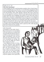 Gemeindebrief Sept. - Nov. 2012 - Evangelischer Kirchenkreis Trier