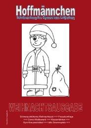Schwerpunktthema Weihnachtszeit +++ Freizeitumfrage +++ Comic ...