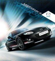 Broschüre Mazda MX-5 Senshu ansehen