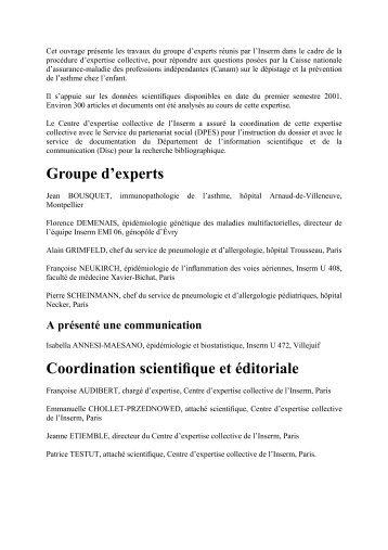 Asthme - La Documentation française