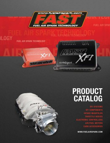 PRoduct catalog - FAST Man EFI Home Page