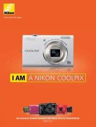 COOLPIX-Produktreihe Herbst 2011 - Nikon Deutschland
