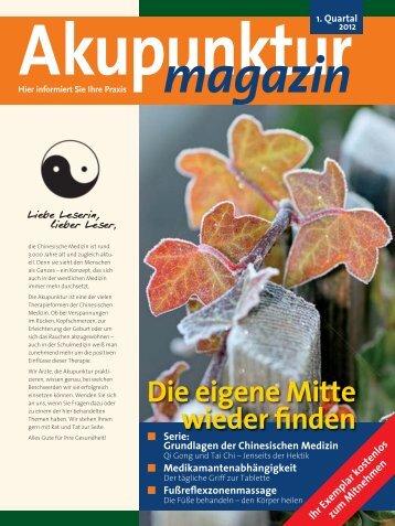 Akupunktur Magazin Januar 2012