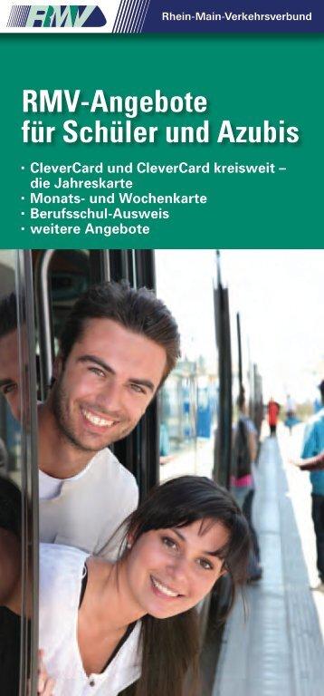 RMV-Angebote für Schüler und Azubis - Broschüre (PDF