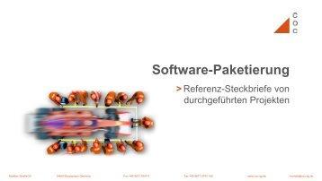 Software-Paketierung - COC AG