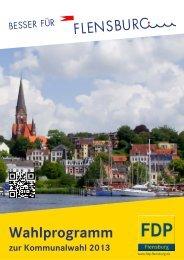 Wahlprogramm - FDP Flensburg