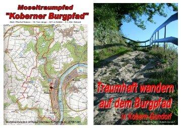 Start: Pfarrhof Kobern - 16,7 km Länge – 521 m ... - Kobern-Gondorf